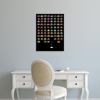 Easy Art Prints Terry Fan's 'Fashionable Invaders' Premium Canvas Art