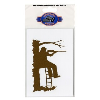 "Cardstock Laser Die-Cuts 4""X6""-Hunter Tree Stand"