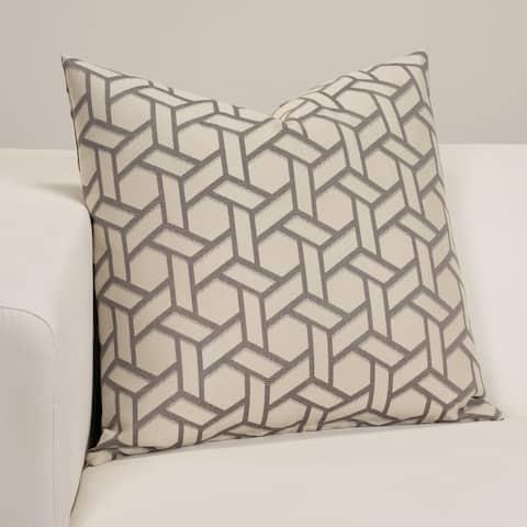 Anna Gray Designer Throw Pillow
