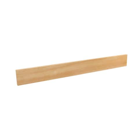 """Short Wood Divider for Drawer Organizers - 0.5""""W x 22""""D x 2.4""""H"""