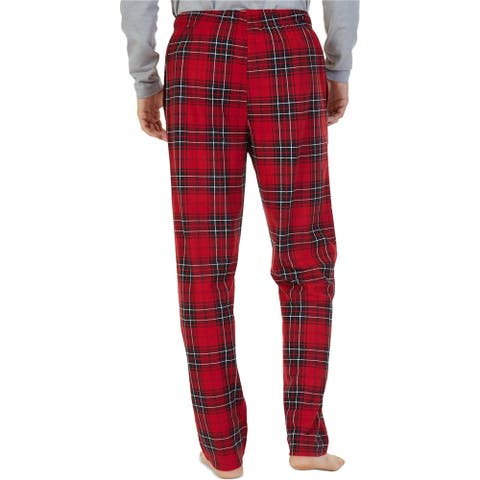 Nautica Mens Blackwatch Pajama Lounge Pants