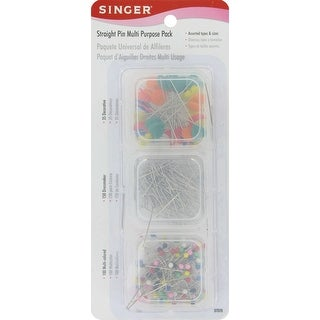 Straight Pins-Assorted 285/Pkg