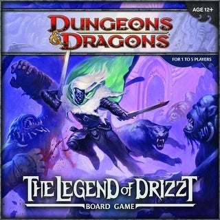 Dungeons & Dragon Legend of Drizzt Board Game - multi