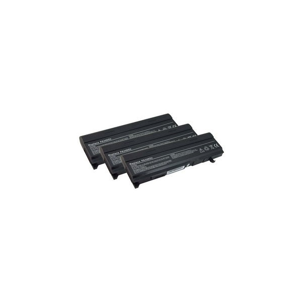 Battery for Toshiba PA3465UBattery for Toshiba PA3 (3-Pack) Laptop Battery