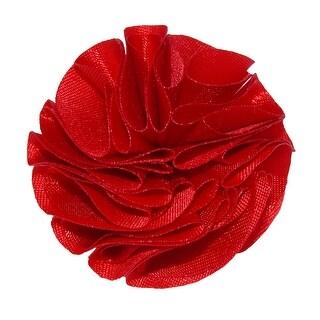 Umo Lorenzo Men's Carnation Clutch Back Lapel Pin - One size