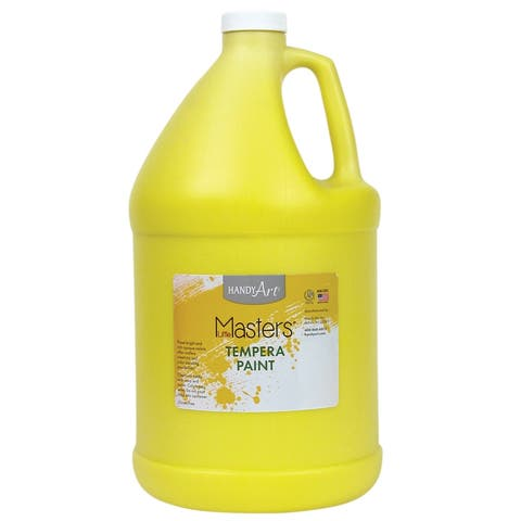 Little masters little masters yellow 128oz tempera 204710