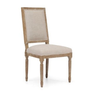 Zuo Modern Cole Valley Dining Chair Cole Valley Oak Dining Chair (Package of 2)