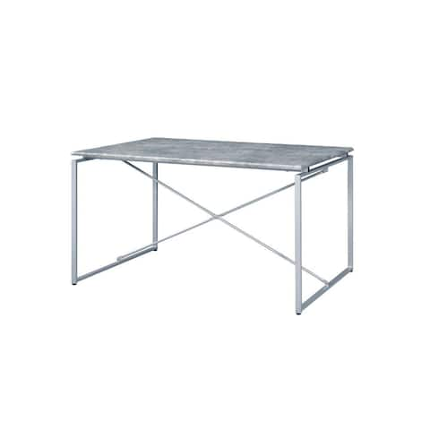Q-Max Industrial Style Dining Table (Table Only)