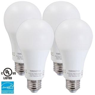 4-Pack 15.5W A21 bulb 2700K Warm White/5000K Daylight