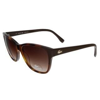 Lacoste L775/S 214 Havana Wayfarer sunglasses Sunglasses