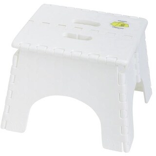 B & R Plastics Folding Step Stool 101-6 Unit: EACH