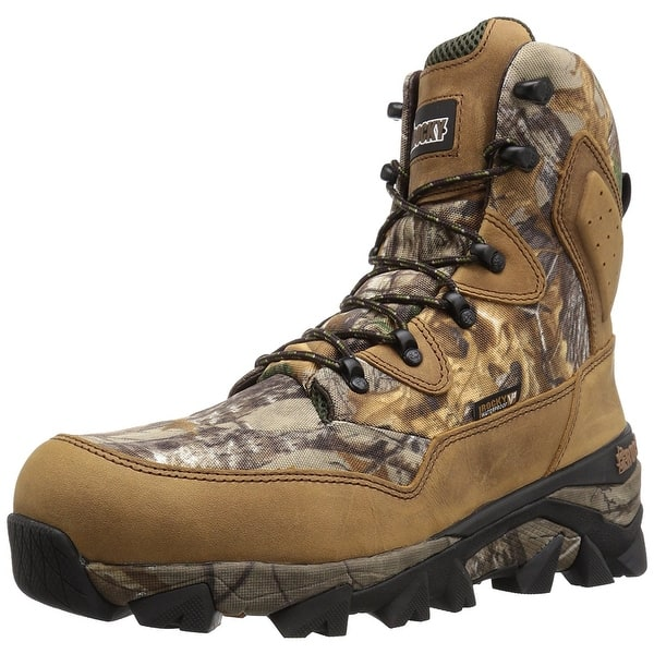 85ba2ee0580 Rocky Mens rks0324 Canvas Closed Toe Ankle Cold Weather Boots - 8.5