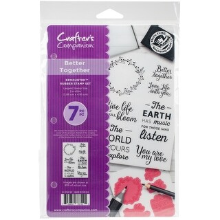 Better Together - Crafter's Companion EZMounted Stamp Set