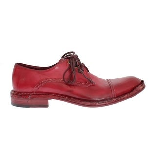 Dolce & Gabbana Dolce & Gabbana Red Leather Dress Formal Shoes - eu44-us11