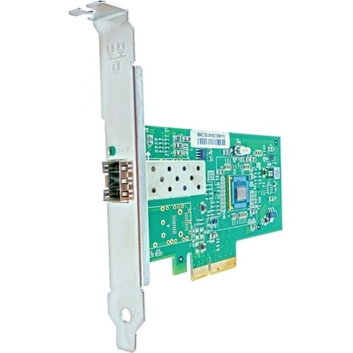 """Axiom PCIe x4 1Gbs Single Port Fiber Network Adapter for Dell Single Port Fiber Network Adapter"""