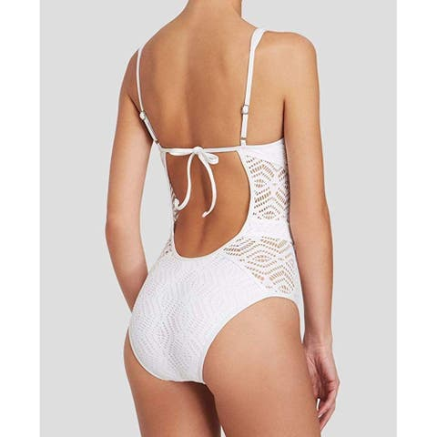 La Blanca Women's Island Goddess Scallop Edge Hipster Bikini Swimsuit Bottom, Midnight, 14