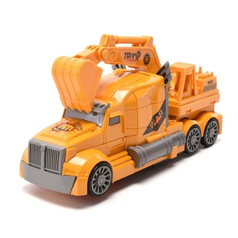 WonderPlay Super Car Deformation Machine Soldiers Corretion Evil Safeguards 3 Years + - Yellow