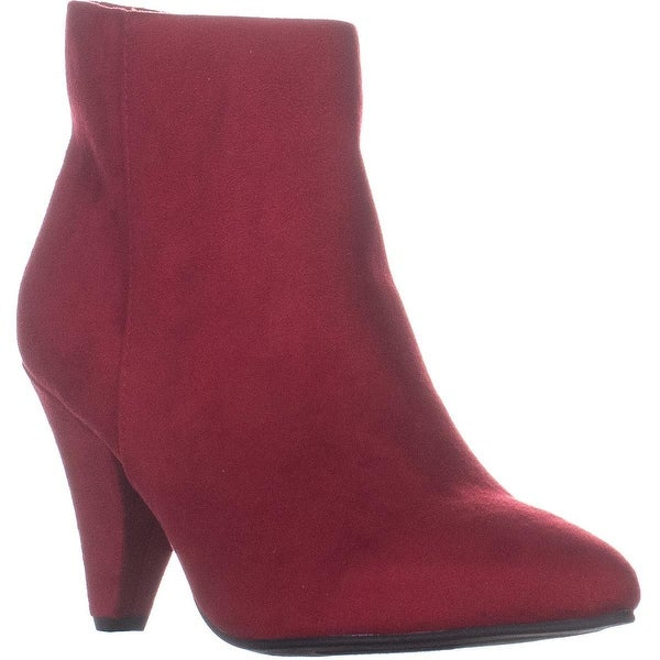 e3963bd4d728 Shop Seven Dials Calzada Pointed Toe High Ankle Boots, Red - 9.5 US ...