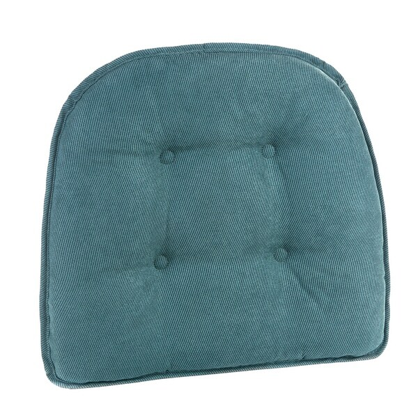 Shop Twillo Marine Tufted Chair Pad (Set of 2) - Overstock - 10218842