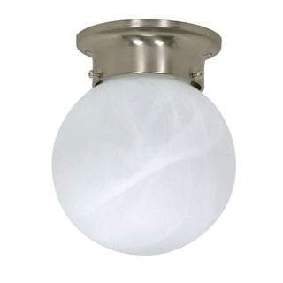 Nuvo Lighting 60/257 1 Light Flush Mount Indoor Ceiling Fixture - 6 Inches Wide
