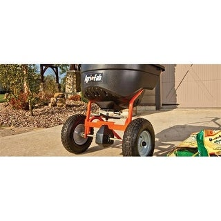 Agri-Fab 45-0462 Push Broadcast Spreader, 33.625 x 27.125 x 48 in.
