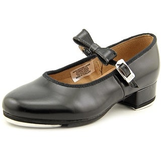 Bloch Merry Jane Youth Round Toe Leather Black Dance