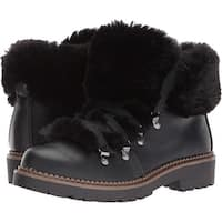 ESPRIT Womens cameron-e Faux Fur Closed Toe Ankle Cold Weather Boots