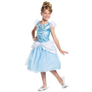 Disguise 2019 Cinderella Classic Child Costume - Blue