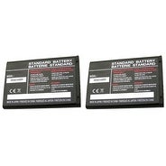 Replacement AB463446BA 800mAh Battery for Samsung E1272 / SCH-R211 / SM-B311V Phone Models (2 Pack)