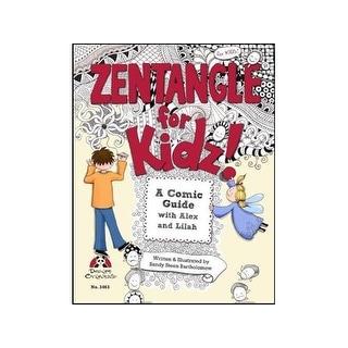 Design Originals Zentangle for Kidz Bk