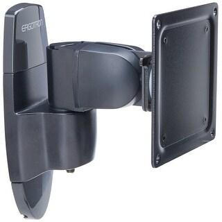 Ergotron - Ergotron 200 Series Wall Mount Monitor Pivot.Provides Full Tilt And Panning Capa