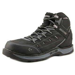 Wolverine Mike Round Toe Leather Hiking Boot