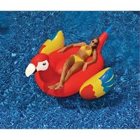 "Giant Parrot Float - Large Pool Inflatable - 76"" x 45"" - Multi"
