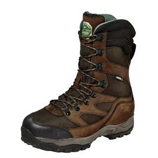 "Wood N Stream Outdoor Boots Mens 10"" Mountain Ridge WP Brown 3100"