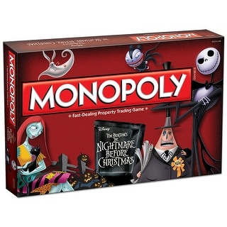 Nightmare Before Christmas Monopoly Boardgame
