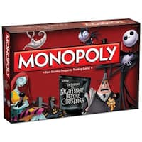 Nightmare Before Christmas Monopoly Boardgame - multi