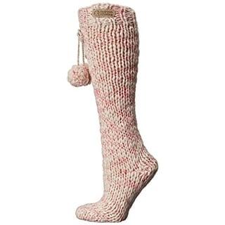 Bedroom Athletics Womens Knit Knee-High Slipper Socks - o/s