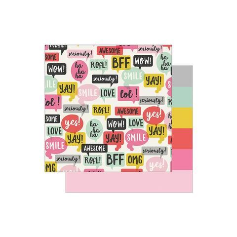 8005 simple stories emoji love paper 12x12 2 cool