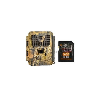 Covert ICE 8 MP Camera - Mossy Oak Country w/ 16GB SD Card Game Camera