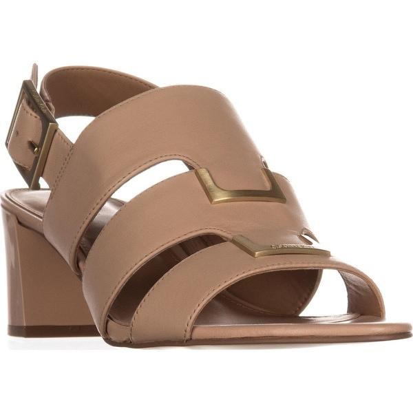 Calvin Klein Neda Slingback Sandals, Sandstorm