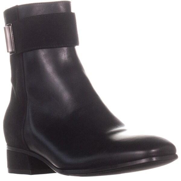 Shop Aquatalia Lupita Ankle Boots Black 7 5 Us On