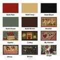 "Swan Comfort Home Fashion Printed Doormat Scrape Dirt & Grass Textured Grip Bottom 18"" x 31"" - Thumbnail 4"