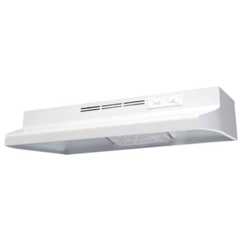 """Air King AD130 30"""" 2 Speed 130 CFM Under Cabinet Hood with Charcoal Filter and 60W Incandescent Lighting"""