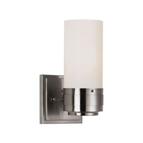 Trans Globe Lighting PL-2915 1 Light Energy Efficient Wall Sconce with Frosted Shade