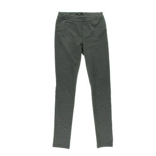 Sanctuary Womens Ponte Flat Front Skinny Pants