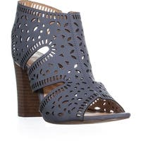 XOXO Bloom Perforated Zip Up Sandals, Bloom