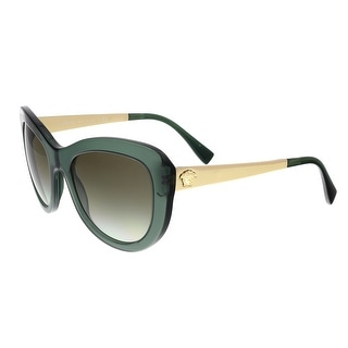 Versace VE4325 52118E Transparent Green Cat Eye Sunglasses - transparent green