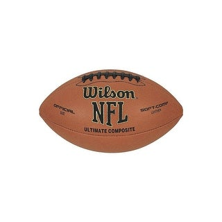 Wilson WTF1845 NFL Ultimate Composite Football, Official Size