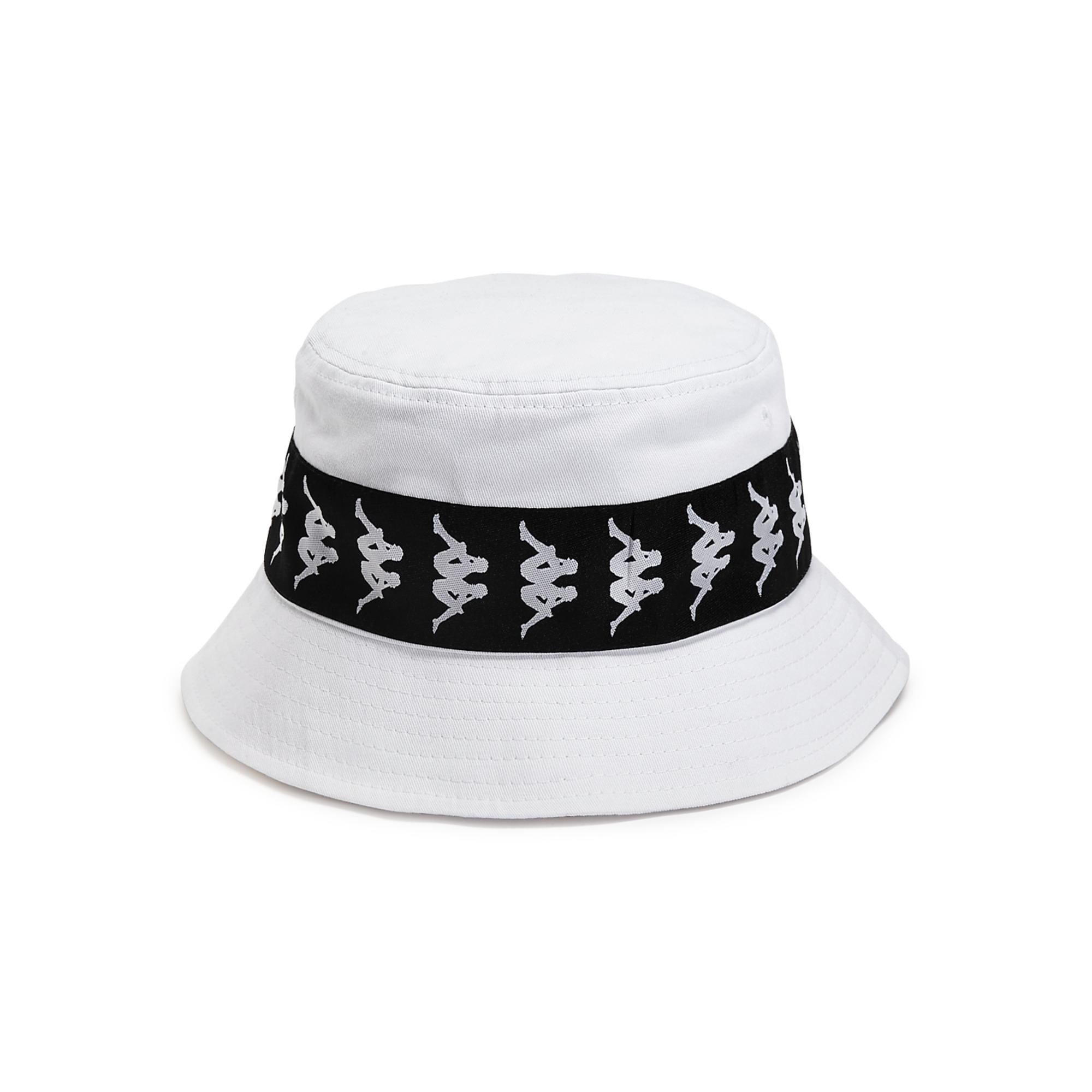 Relazionato Duplicare sgabello  Shop Kappa Mens 222 Banda Bucket Hat Cotton Logo - White/Black - S/M -  Overstock - 31479042