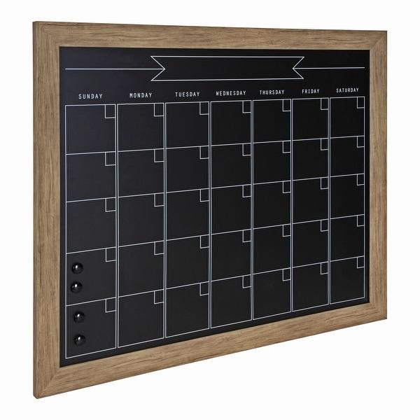 DesignOvation Beatrice Framed Magnetic Chalkboard Calendar. Opens flyout.
